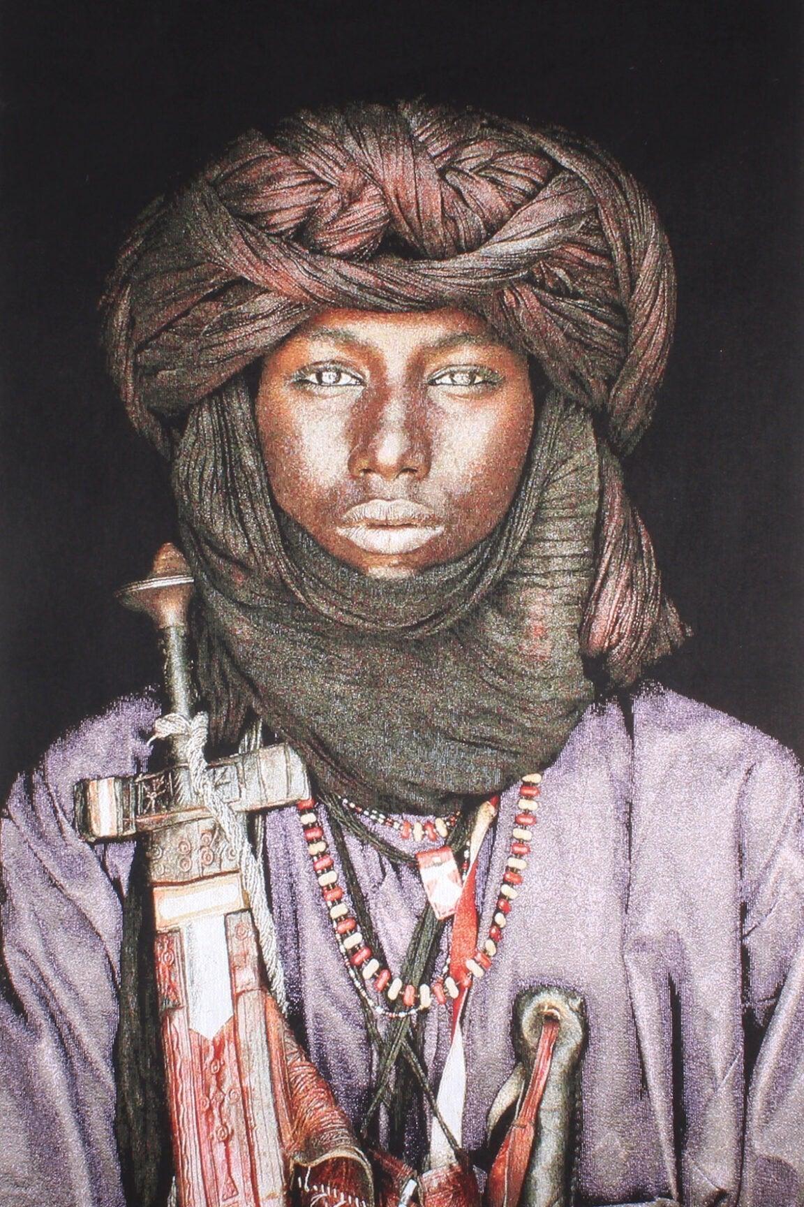 Gobelinbild-Dawo-Fulani-Tribe