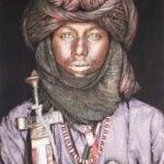 Gobelinbild Dawo Fulani Tribe