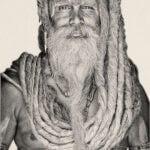 Gobelinbild Gangadas Baba - Creme