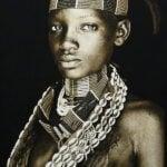 Gobelinbild Hamar Lady - Ethiopia