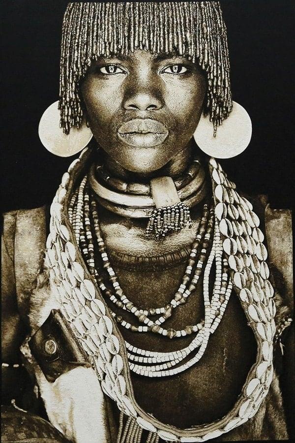 Gobelinbild-Hamar-Women-Ethiopia