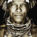 Gobelinbild Ovakakaona Tribe - Angola