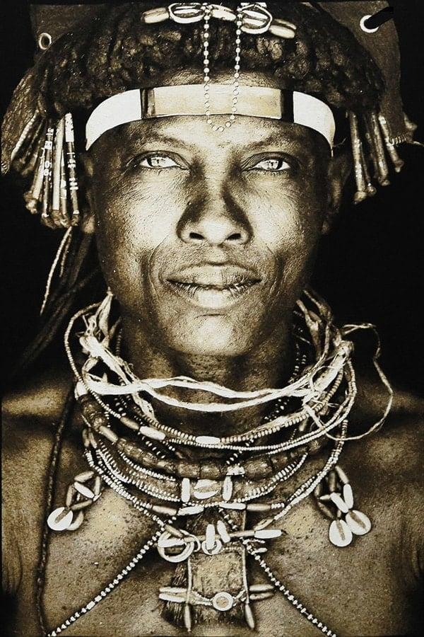 Gobelinbild-Ovakakaona-Tribe-Angola