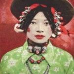 Gobelinbild Tibetan Girl