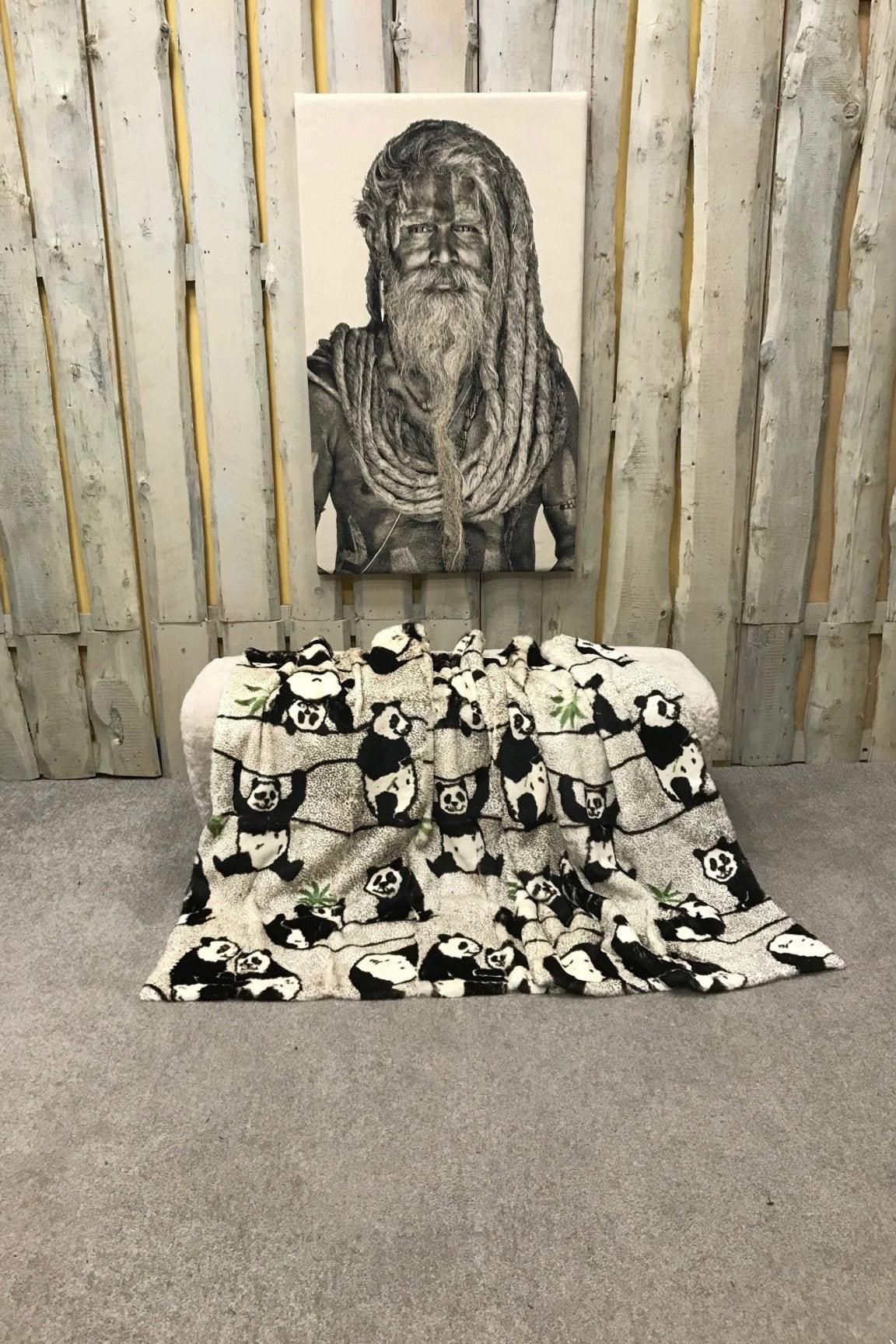 Kanin Decke Pandaprint