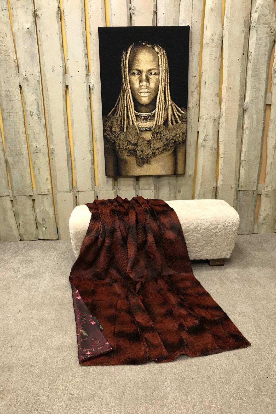 Kanin Decke Persianer Struktur