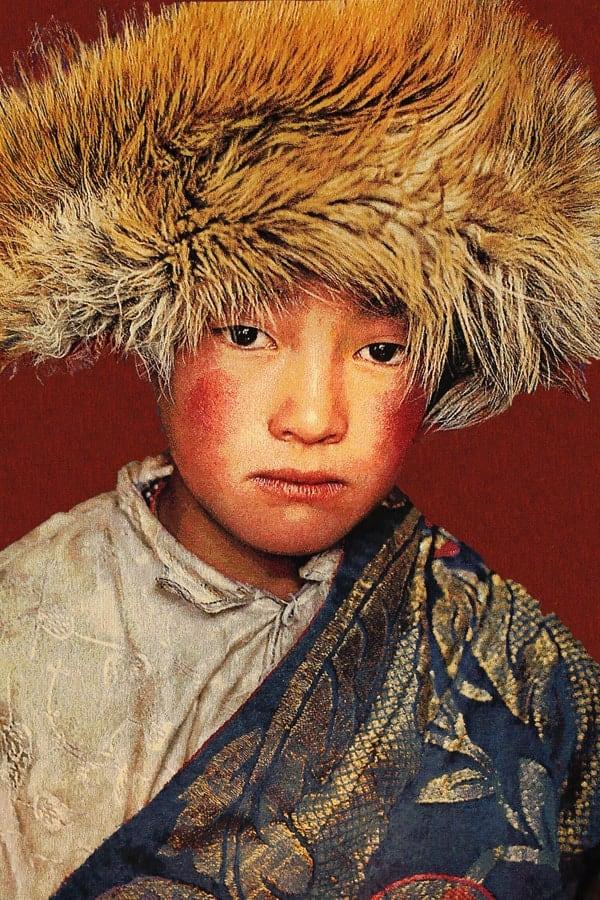 Gobelinbild-Tibetan-Boy-Terra